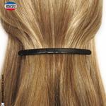 Barrette cheveux noire longue et fine (10,5cm)