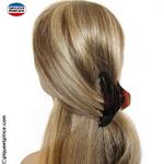 Pince cheveux demie queue