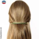 accessoire cheveux fins couleur verte