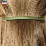 barrette cheveux  fine pour demi queue de cheval