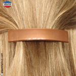 barrette cheveux marron pour demi queque