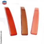 barrette couleur rouge, marron ou rose foncé