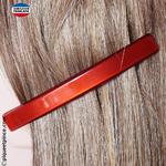 barrette cheveux de coté couleur rouge
