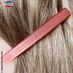 Fine barrette de coté couleur rose foncé