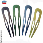 épingles à cheveux couleur bleu ou vert fabrication Française