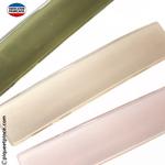 barrette couleur opale rose pale, vert ou beige très clair