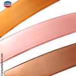 Barrette cheveux couleur orange, rose ou marron