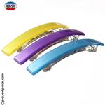 Barrettes à clip couleur fabrication Française