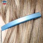 Petite barrette cheveux bleu clair