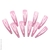barrettes clicclac roses pois blancs