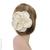 accessoire cheveux  fleur blanche