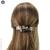 barrette cheveux bicolore clair