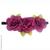 Couronne de fleurs violines