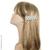 Grande barrette cheveux en tissu