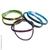 élastiques arc en ciel vert, bleu et mauve