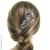 bijou de cheveux peigne métal