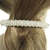Barrette mariage perles et strass
