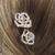 pics pour cheveux fleurs strass