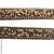 headband chaine et petites perles brunes