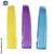 Petites barrettes couleur opale jaune mauve ou bleu