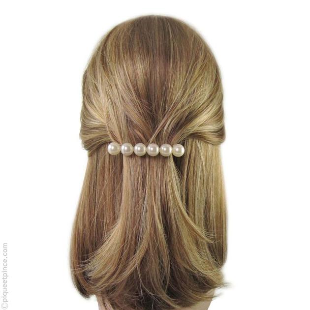 barrette cheveux accessoire cheveux grosses perles. Black Bedroom Furniture Sets. Home Design Ideas