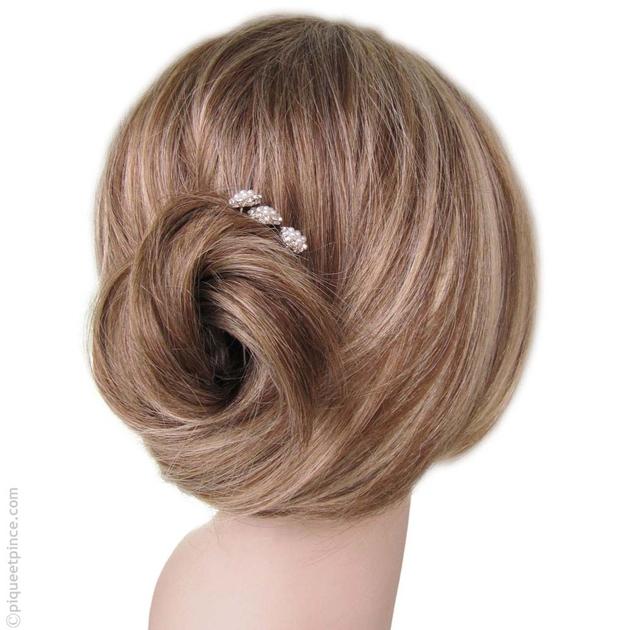 pic cheveux accessoires cheveux fleur perles. Black Bedroom Furniture Sets. Home Design Ideas
