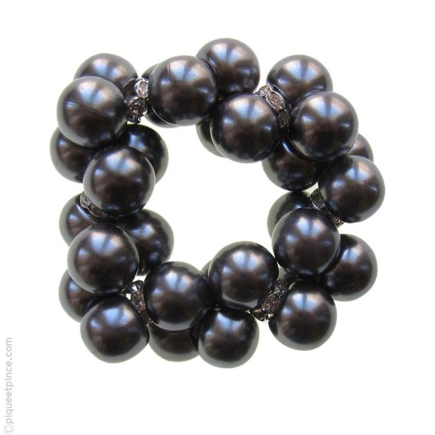 bijou de cheveux accessoire cheveux lastique perles strass. Black Bedroom Furniture Sets. Home Design Ideas