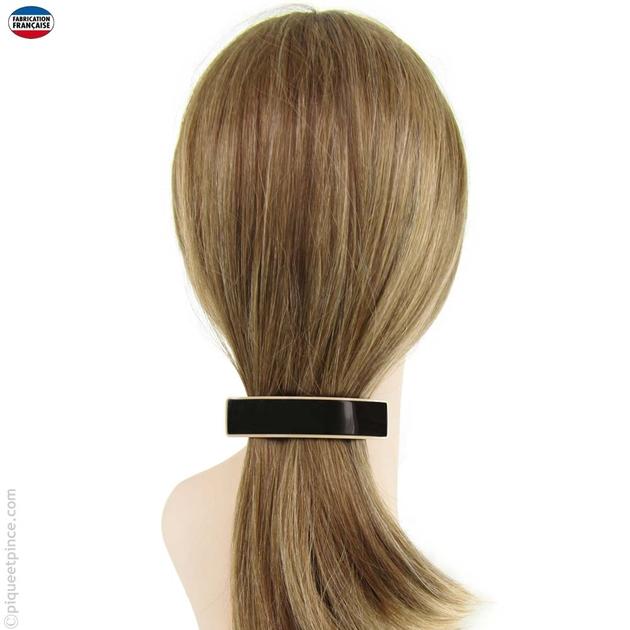 site officiel Vente soldes Barrette cheveux - fabrication française - noire - moyenne ...
