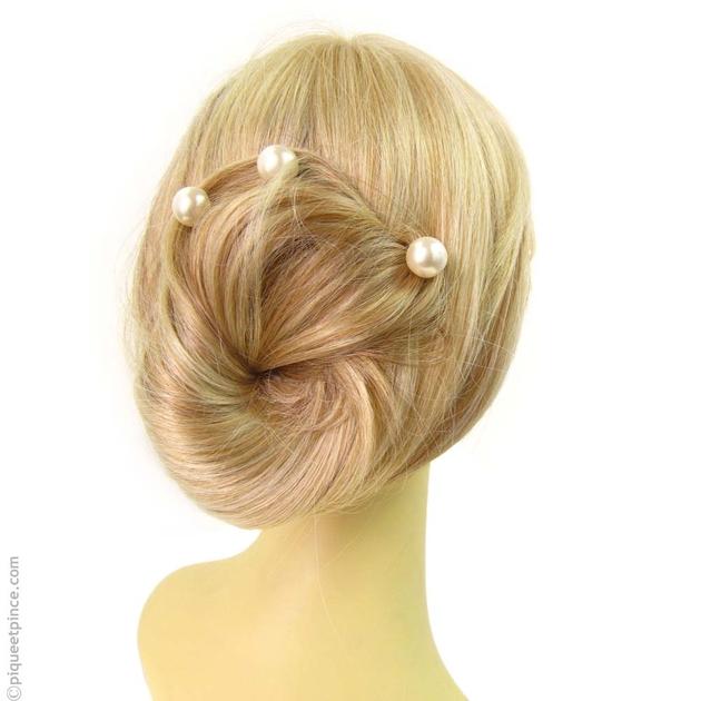 pic cheveux perle accessoire cheveux mariage. Black Bedroom Furniture Sets. Home Design Ideas
