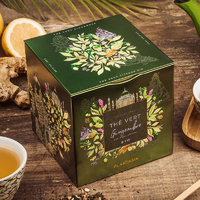 Thé vert - Gingembre Citron BIO - Boîte Deluxe