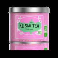 Thé vert à la Rose BIO - Boîte Métal