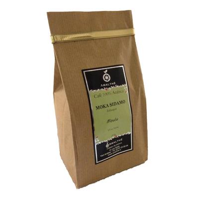 Café - moka - sidamo- moulu - amalthé