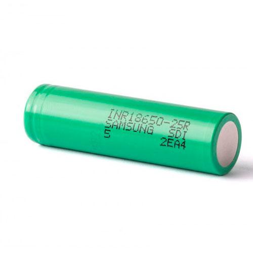 Accu Samsung INR 18650 25R - 2500 mAh