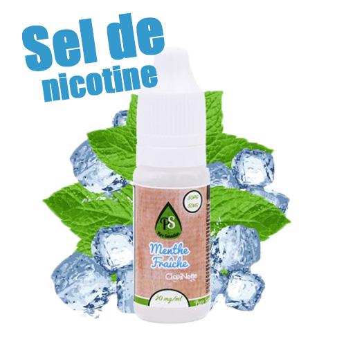 Menthe Fraîche - Sels de Nicotine