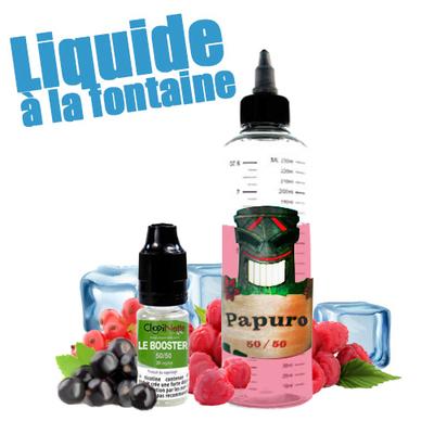 Papuro 50/50 - Liquide à la Fontaine