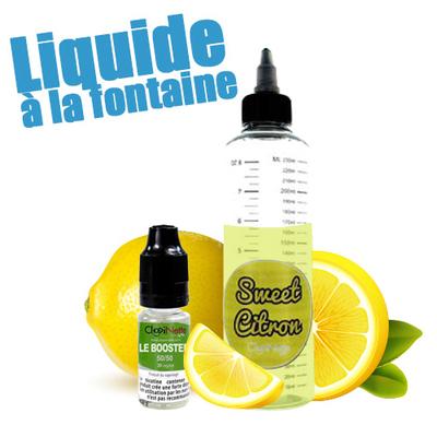 Sweet Citron 50/50 - Liquide à la Fontaine
