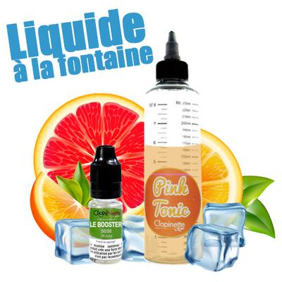 Pink Tonic 50/50 - Liquide à la Fontaine