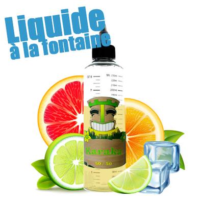 Karaka 50/50 - Liquide à la Fontaine sans Nicotine