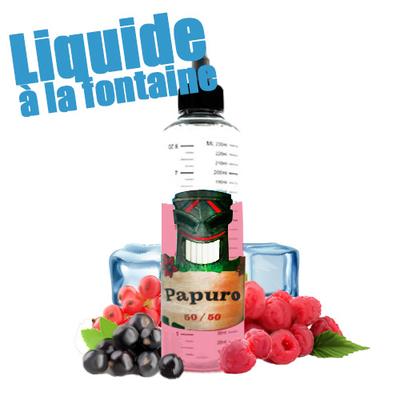 Papuro 50/50 - Liquide à la Fontaine sans Nicotine