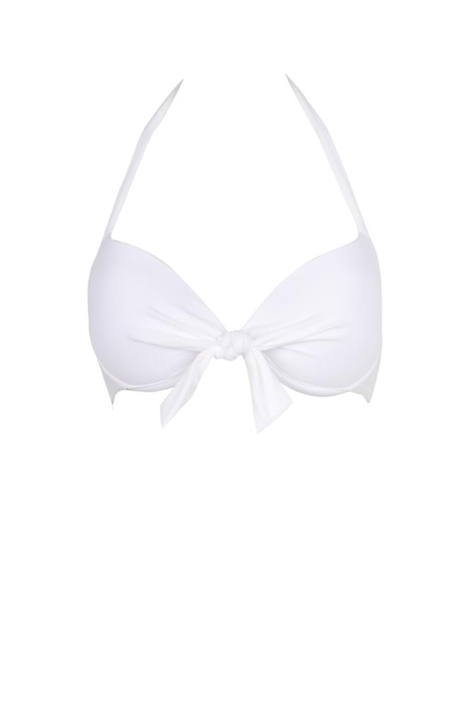 Mon Push-up Bikini -Traje de baño balconnet blanco (Top)