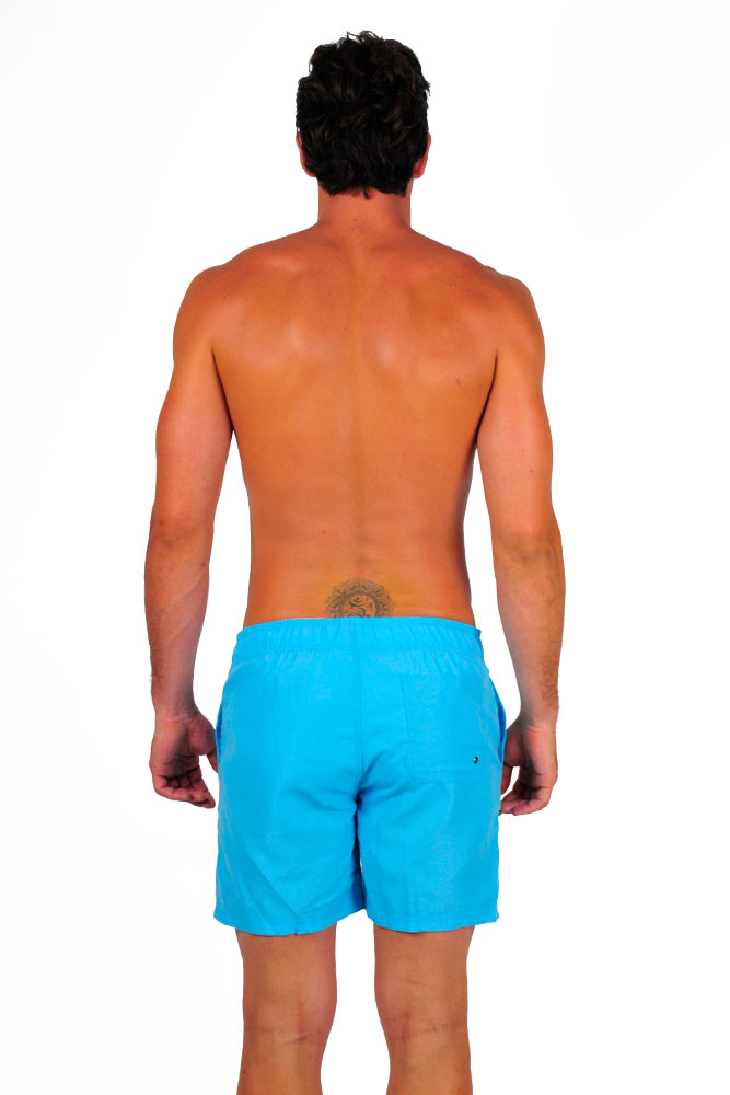 Trajes De Baño Color Turquesa:Traje de baño tipo short azul turquesa para hombre – Marcas/Too Beach