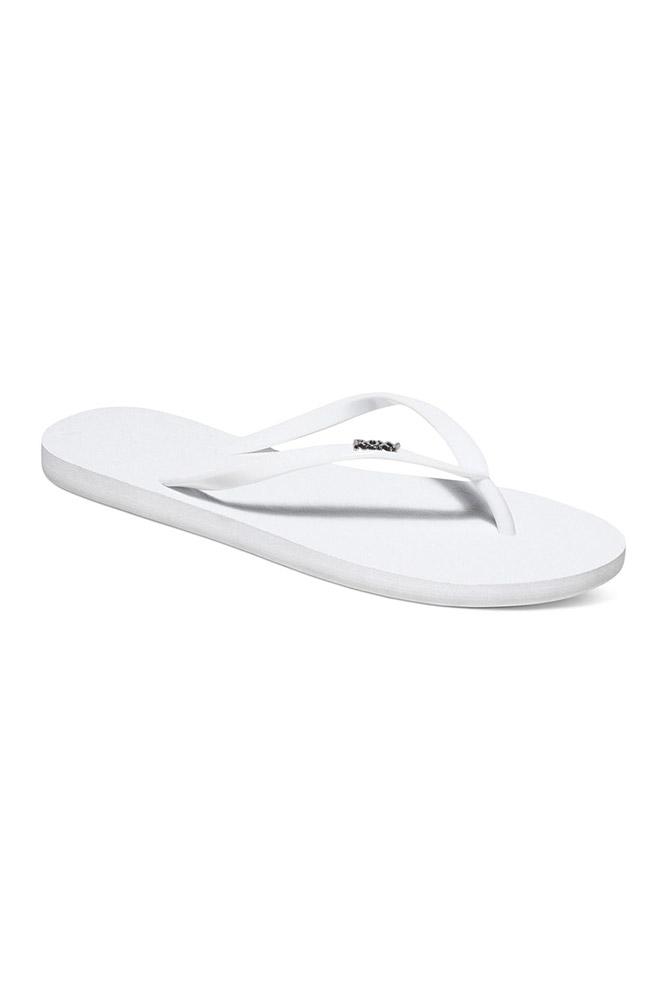 7acd103a665 Sandalias básicas blancas Roxy - Chanclas de playa de mujer online