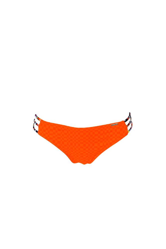 Traje de bano brasileño naranja Flinders (Braga)