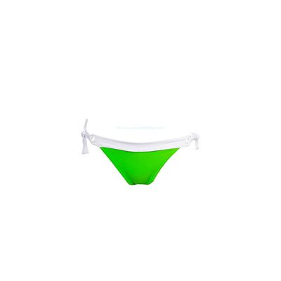 Bikini Bar - Braga de traje de baño con nudos verde fluo Sand