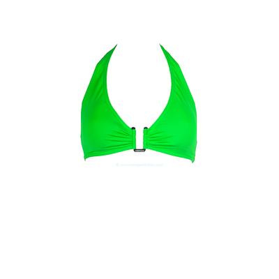 Morgan - Top de traje de baño triángulo verde Lyre