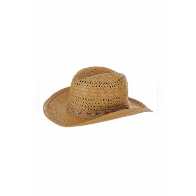 Sombrero de playa Cowboy beige natural Growlers Hatsy