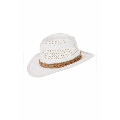 Sobrero de playa Cowboy Growlers Hatsy blanco