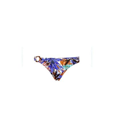 Braga de traje de baño azul floreado multicolor Patchouli