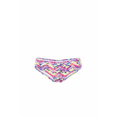 Braga de traje de baño shorty Tetris rosa estampado Banana Moon Teens