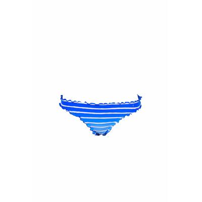 Braga de traje de baño con rayas azules Miami Stripe